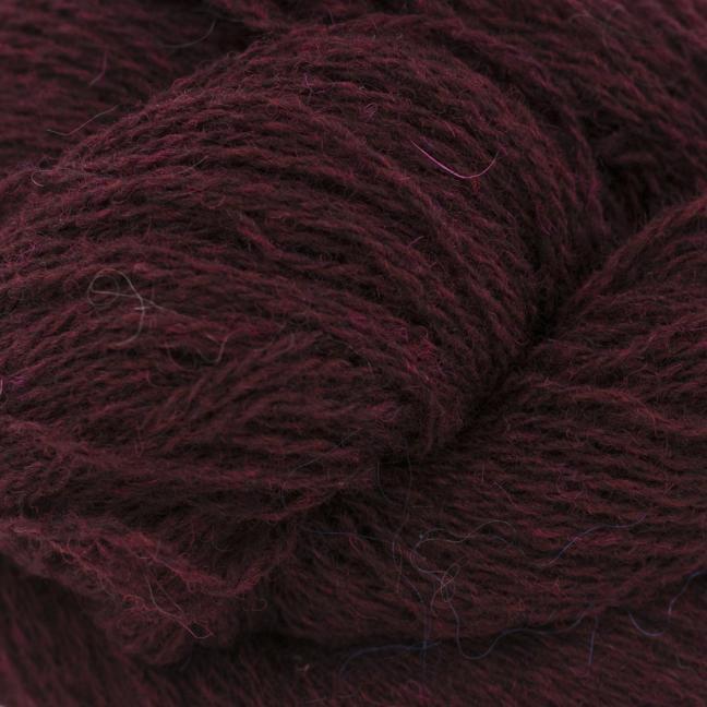 BC Garn Shetland Wool Weinrot