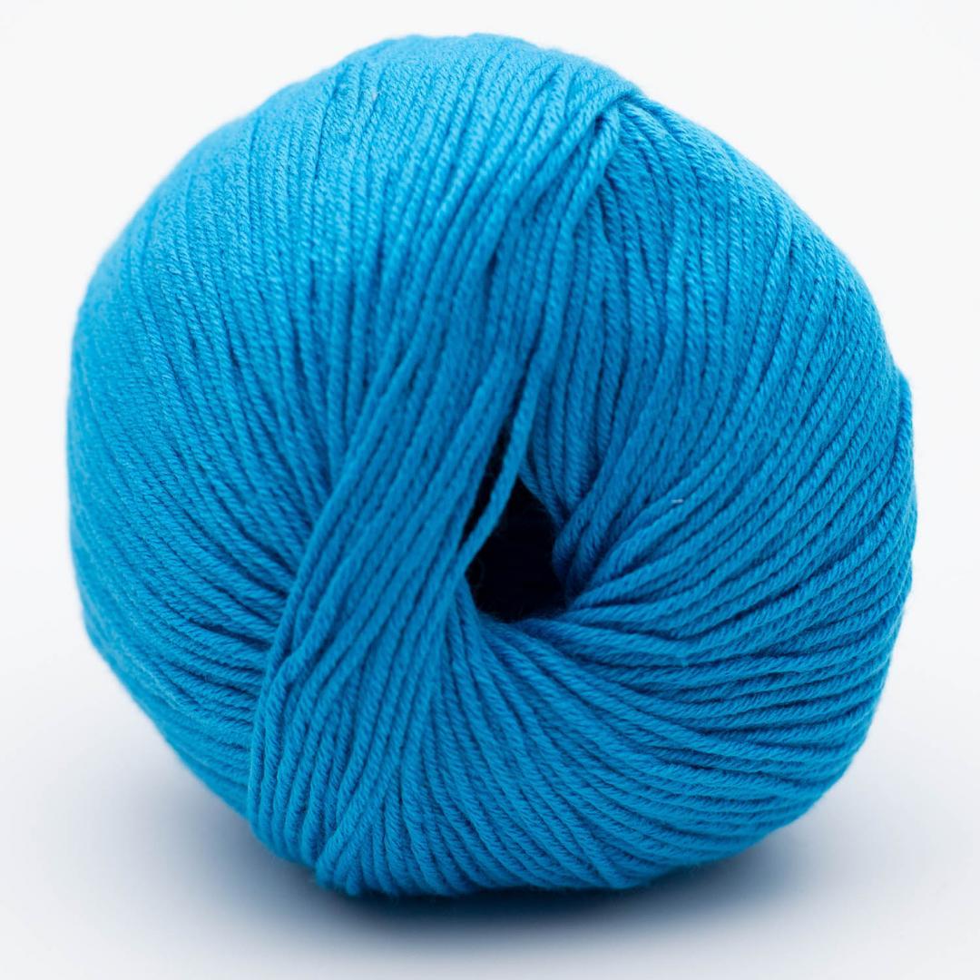 BC Garn Alba GOTS zertifiziert azurblau