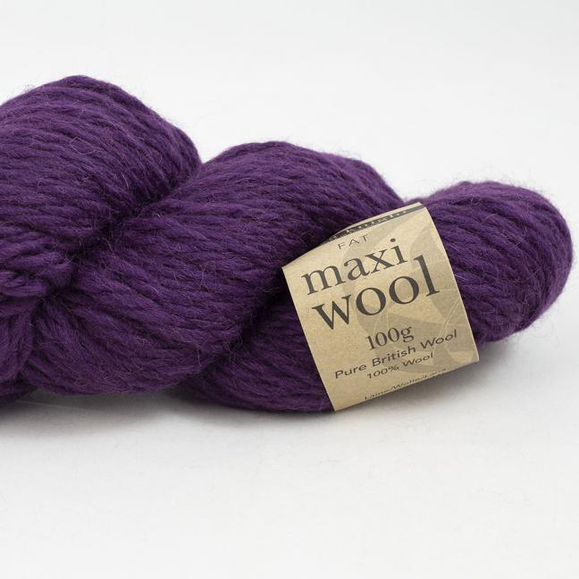Erika Knight Maxi Wool (100g) Mulberry