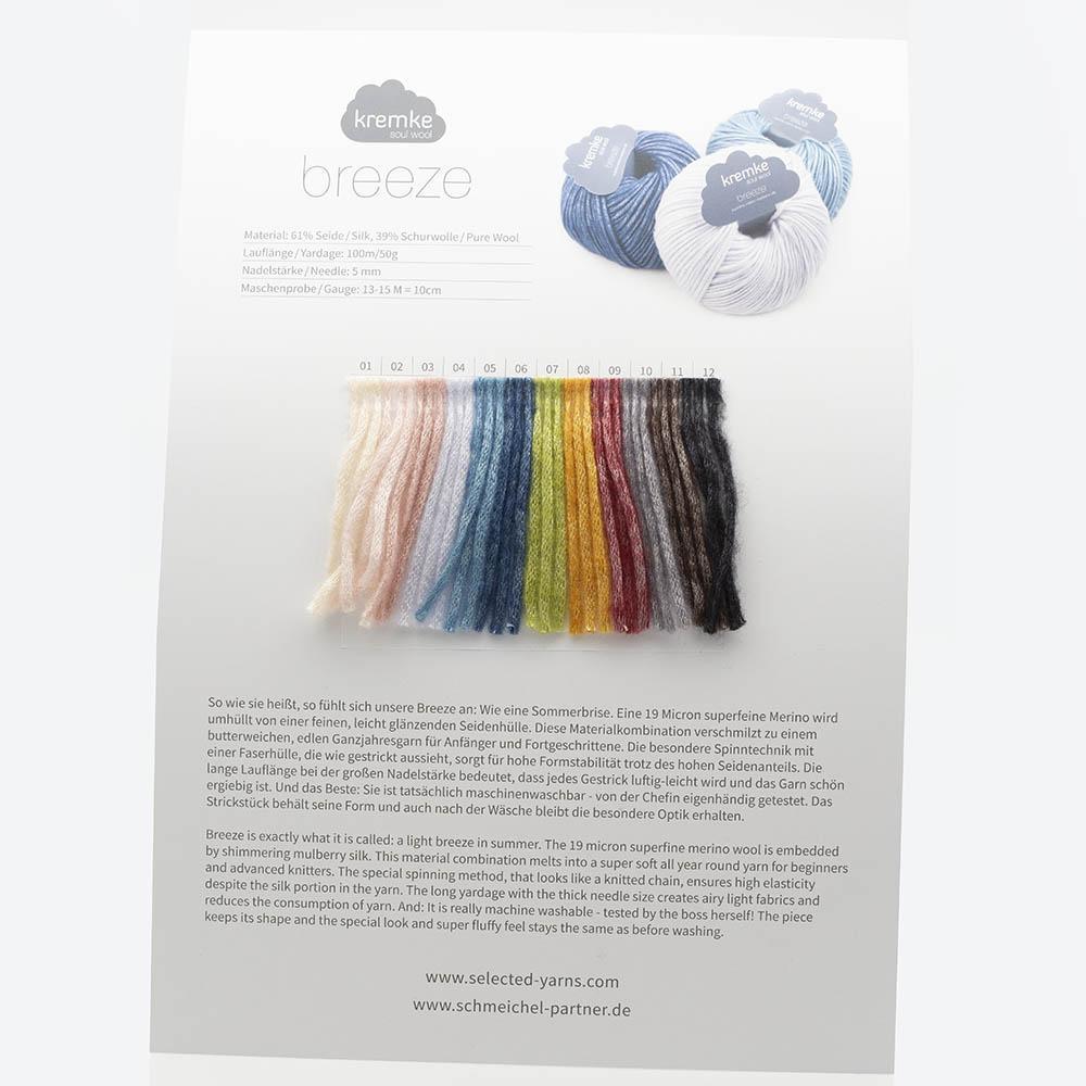 Kremke Farbkarten von Kremke Soul Wool Breeze