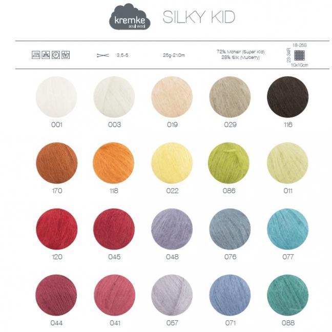 Kremke Farbkarten von Kremke Soul Wool Silky Kid print_ENG