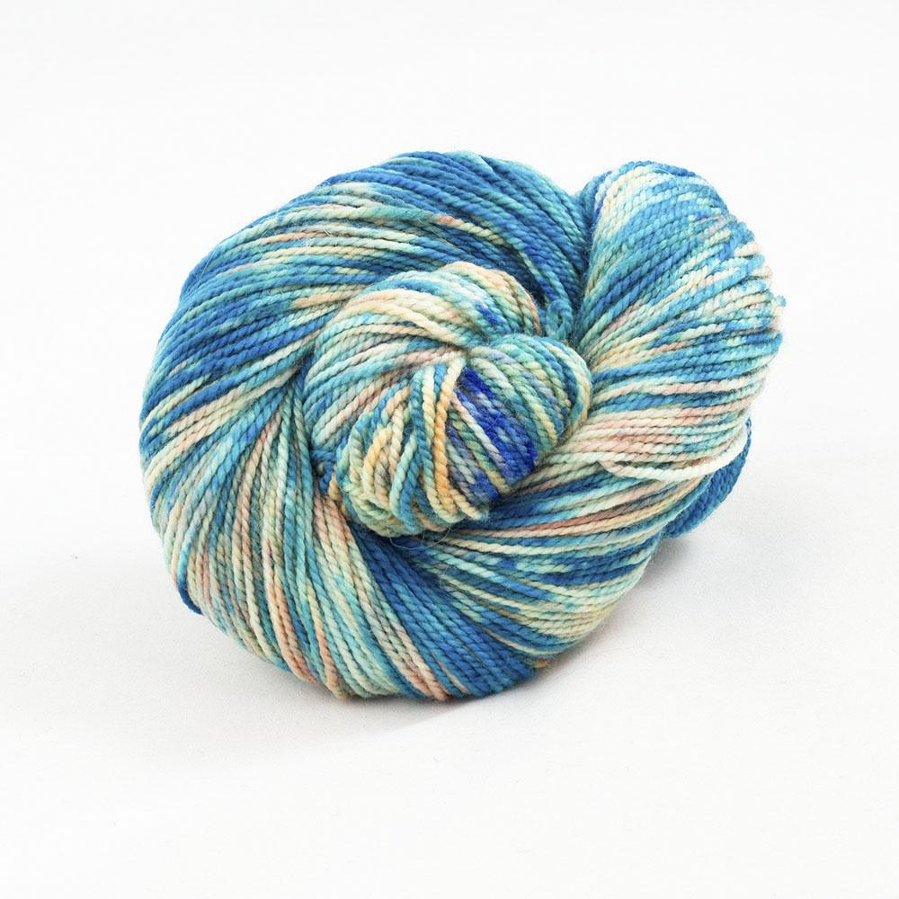 Cowgirl Blues Merino Twist Yarn Farbverlauf (100g) Shorebreak