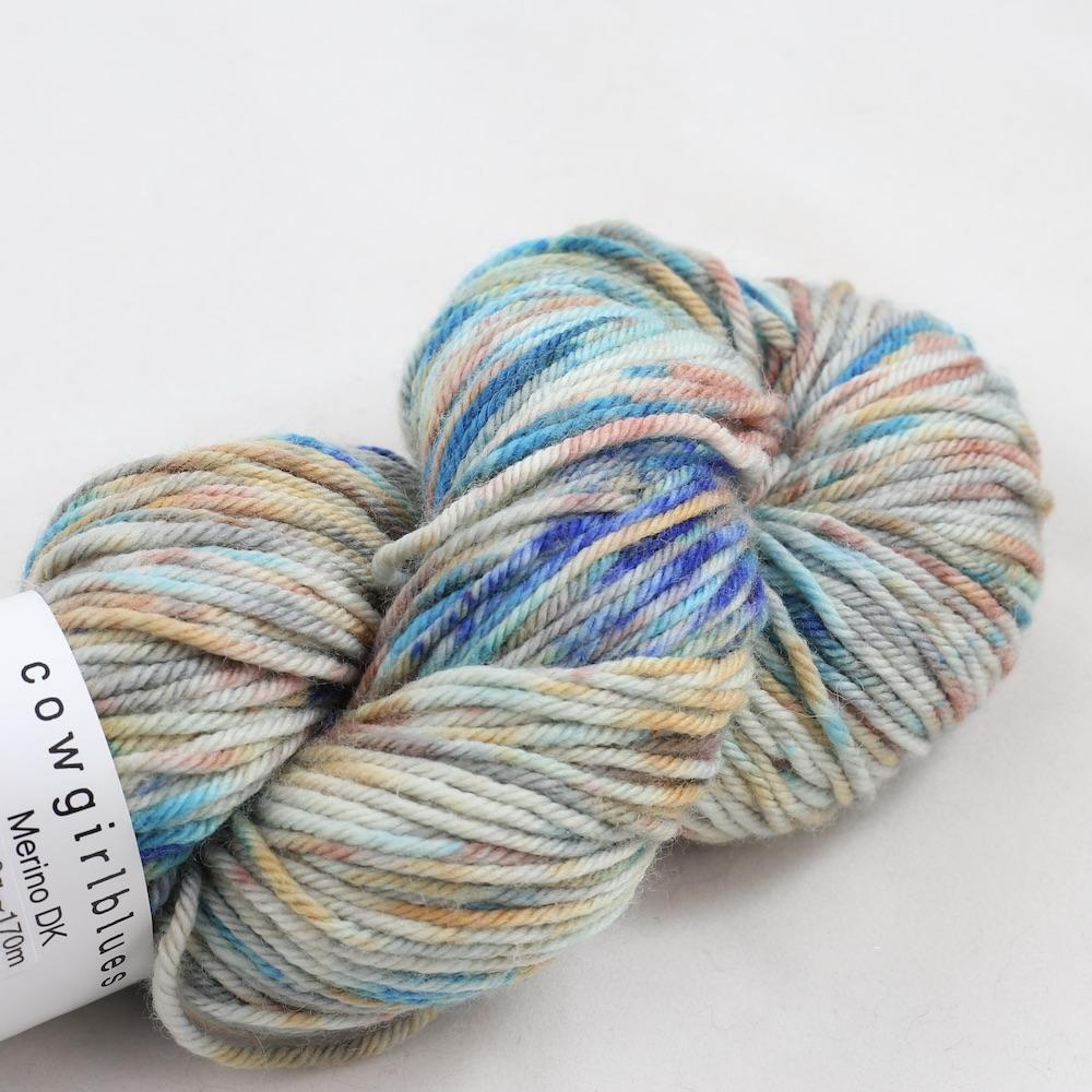 Cowgirl Blues Merino Twist Yarn Farbverlauf (100g) Shorebreak dusty