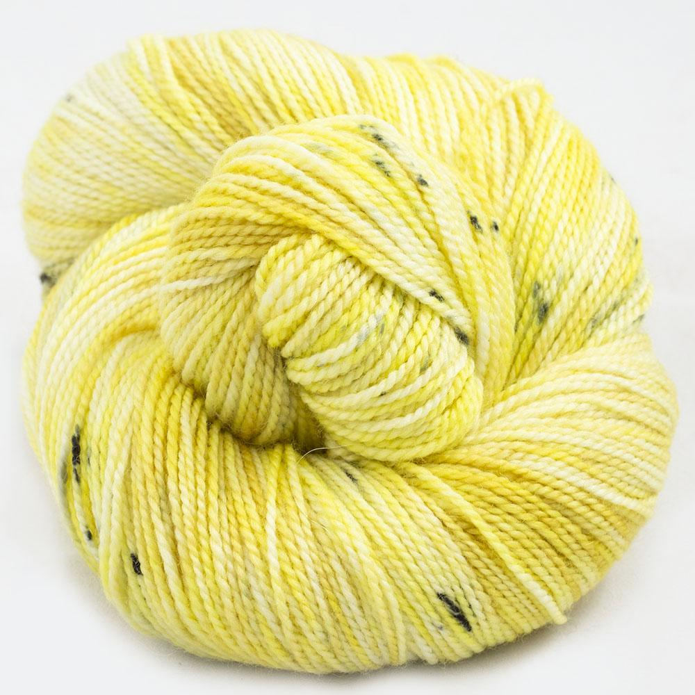 Cowgirl Blues Merino Twist Yarn Farbverlauf (100g) Limoncello