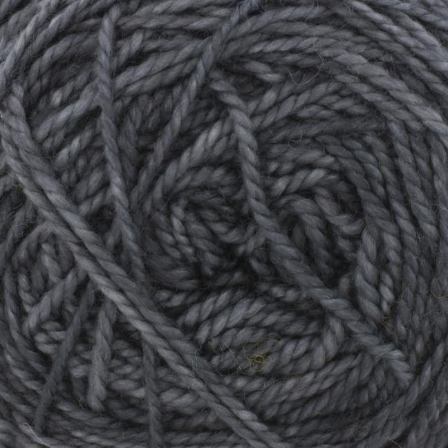 Cowgirl Blues Merino Twist Yarn solids Charcoal