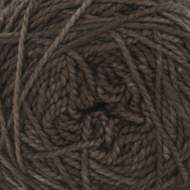 Cowgirl Blues Merino Twist Yarn solids Coffee Bean
