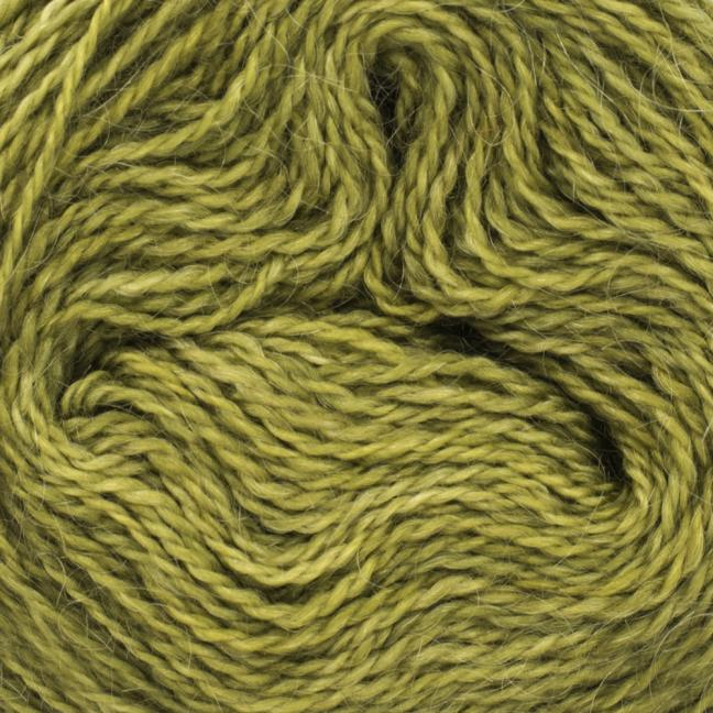 Cowgirl Blues Mohair Wool 2ply Lace (25g) solids Olive