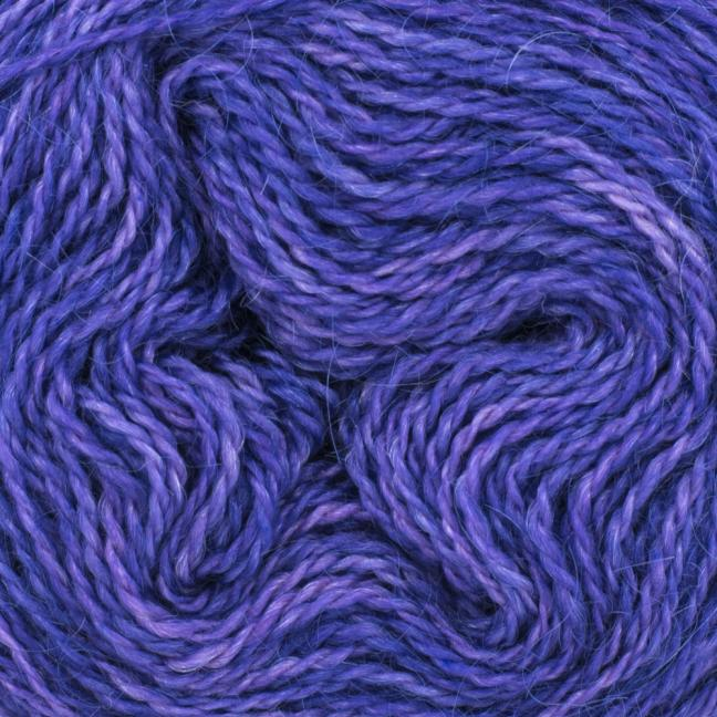 Cowgirl Blues Aran Single (100g) solids Blueberry