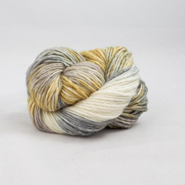 Cowgirl Blues Aran Single Farbverlauf (100g) CaramelSableSilverfoxNatural