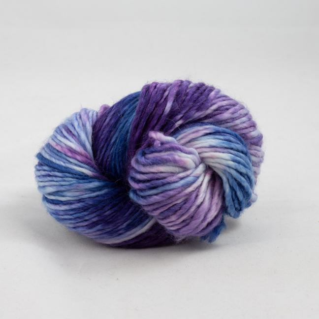 Cowgirl Blues Aran Single Farbverlauf (100g) VioletLilacIcedberryTanzanite