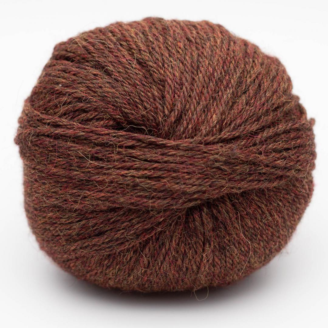 Kremke Soul Wool Baby Alpaca rotbraun_10118