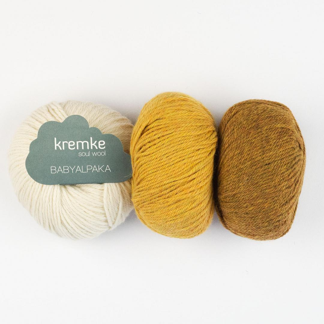 Kremke Soul Wool Babyalpaka  Natural White