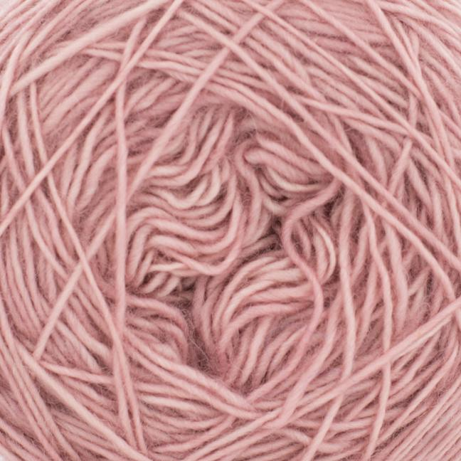 Cowgirl Blues Merino Single Lace solids Faded Rose