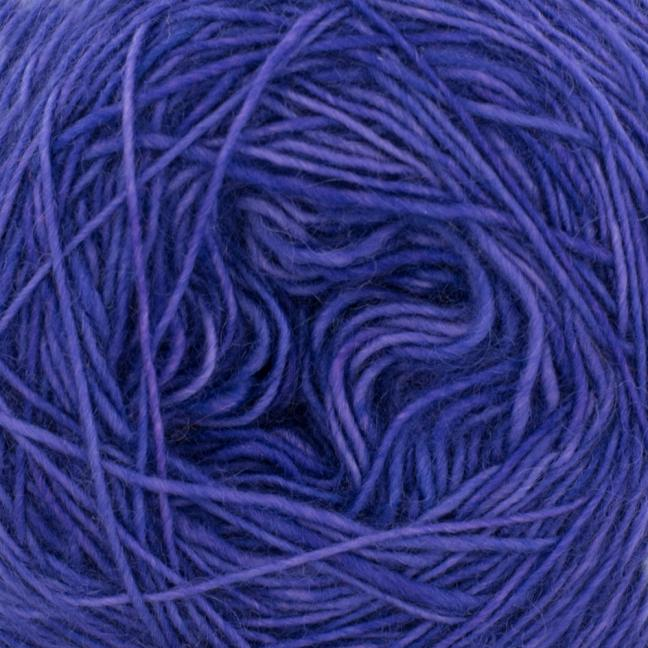 Cowgirl Blues Merino Single Lace solids Blueberry