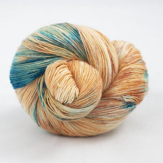 Cowgirl Blues Merino Single Lace Farbverlauf 100g Shorebreak Sunset