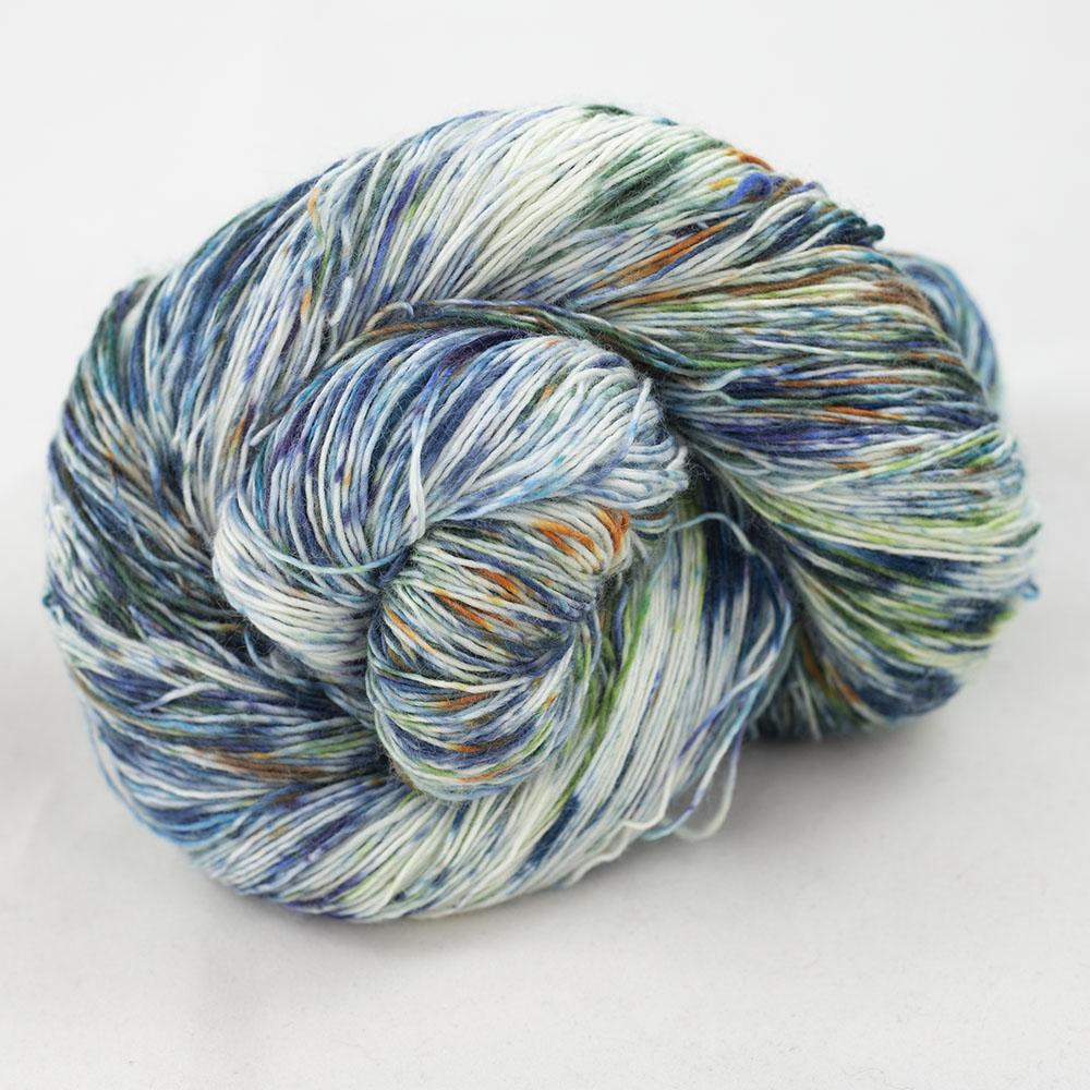Cowgirl Blues Merino Single Lace Farbverlauf 100g 9 to 5